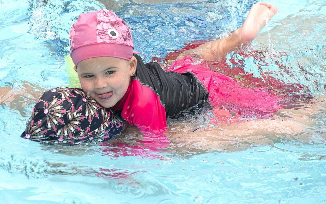 Estimulación acuática en niños